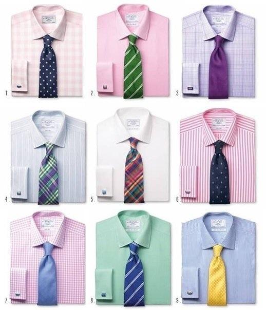 111С чем носят узкий галстук мужчине