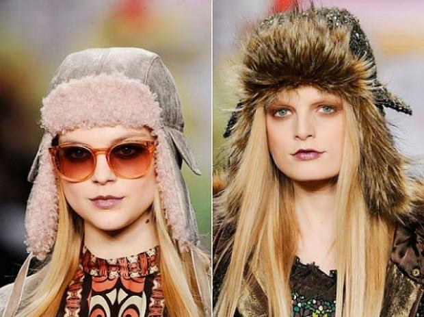 Модные шапки ушанки осень-зима 2019-2016