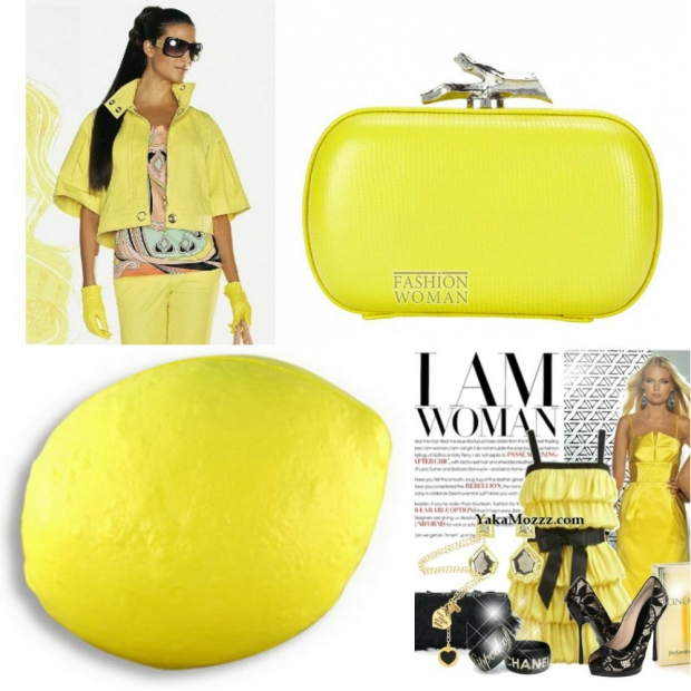 Цвет желтый лимонный