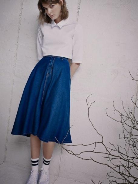 37137483f94 С чем носить джинсовую юбку солнце