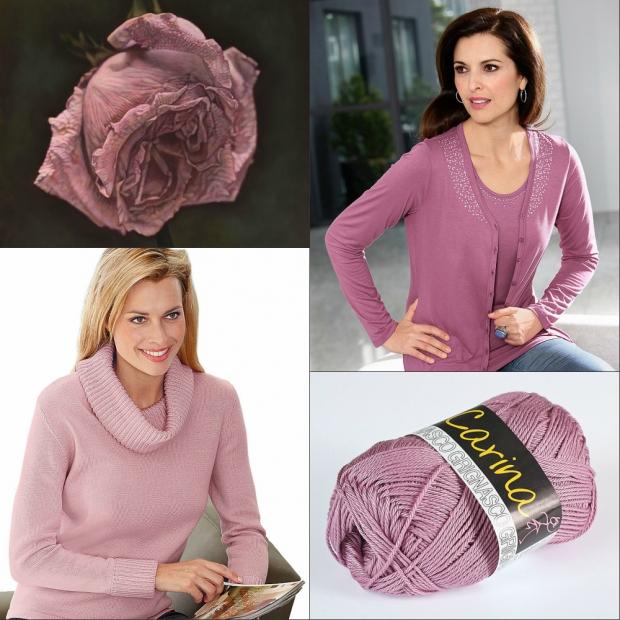 Цвет роза в одежде