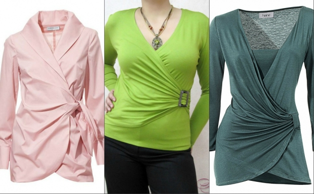 Блузки туники для полных