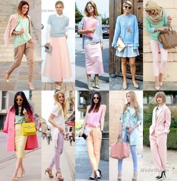 Женская коллекция платьев в фиолетовых тонах