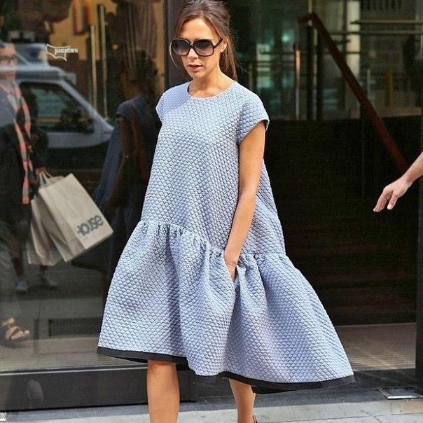 платье в стиле oversize