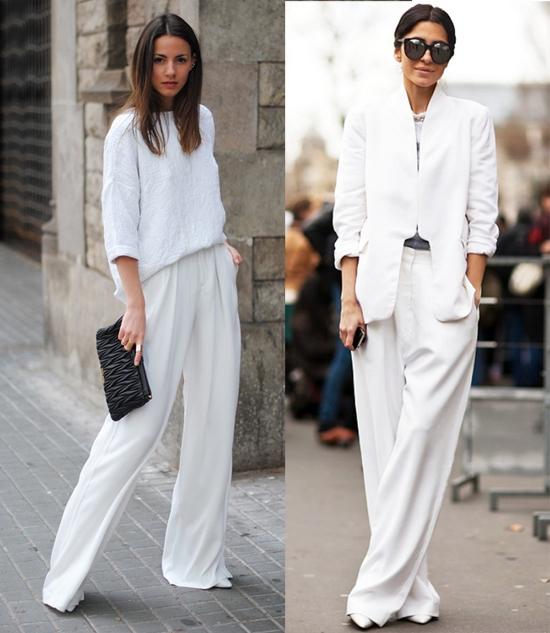 брюки в стиле оверсайз