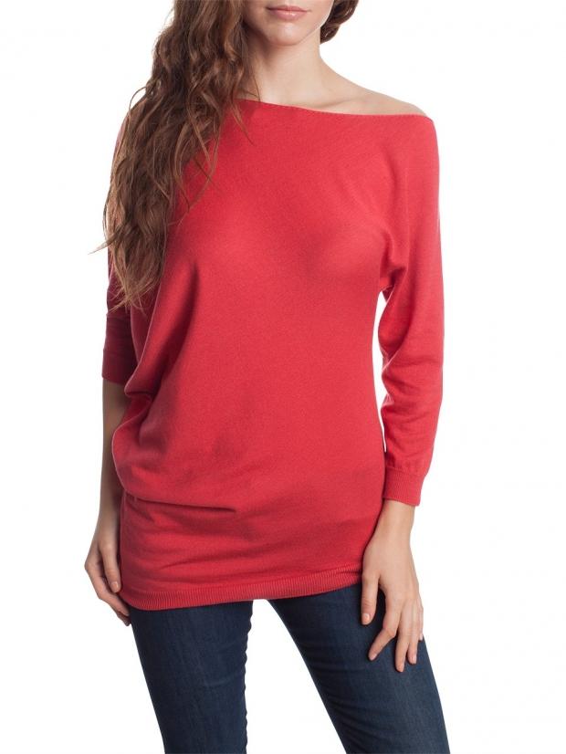 Пуловер С Асимметричным Краем С Доставкой