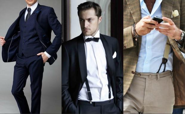 360С чем носят узкий галстук мужчине
