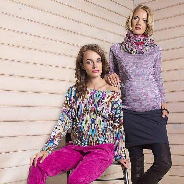 КоллекцииКоллекция одежды для беременных Paola Laroni