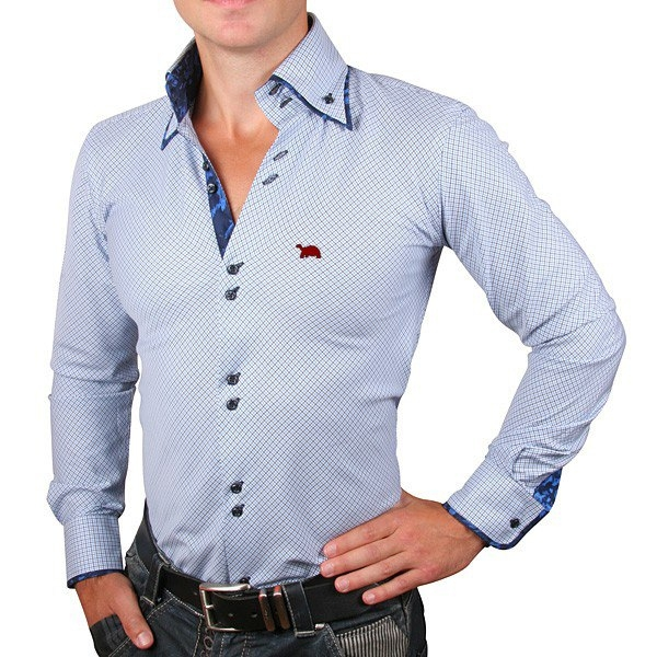 итальянская манжета рубашки