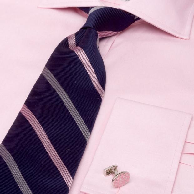 запонки с розовой рубашкой