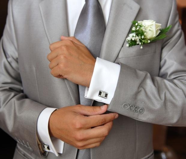 запонки для свадебного смокинга