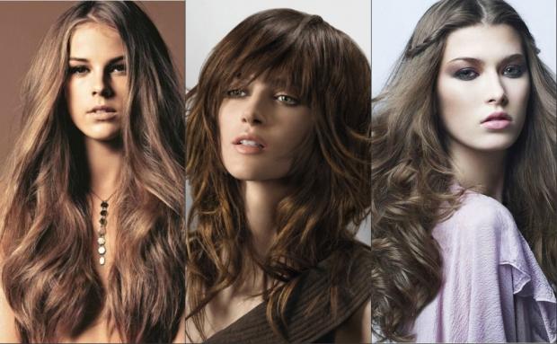 Стрижки на длинные густые жесткие волосы