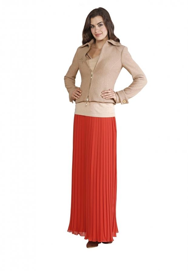 юбка в пол с жакетом