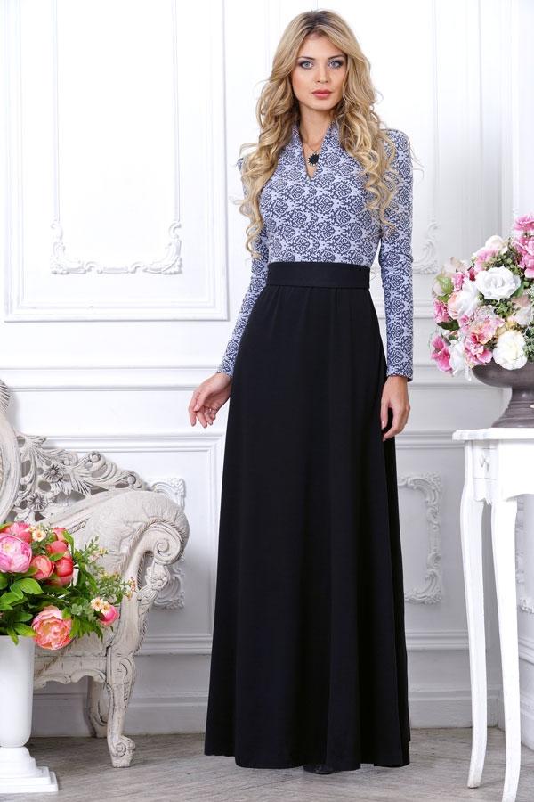 Платья в пол с широкой юбкой