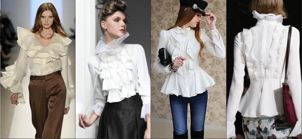 модные блузки 2016 фото женские