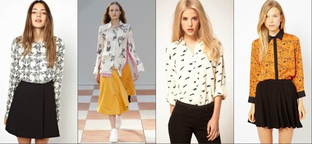 Какие Блузки В Моде 2014 В Екатеринбурге