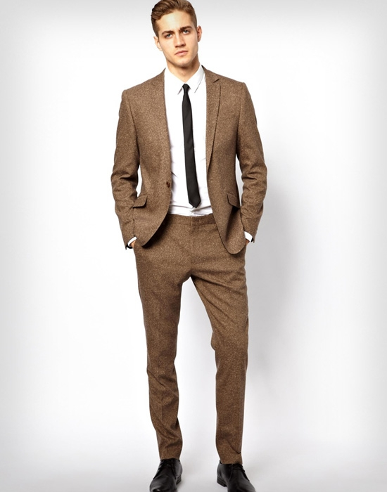 в ретро фото костюм мужской стиле