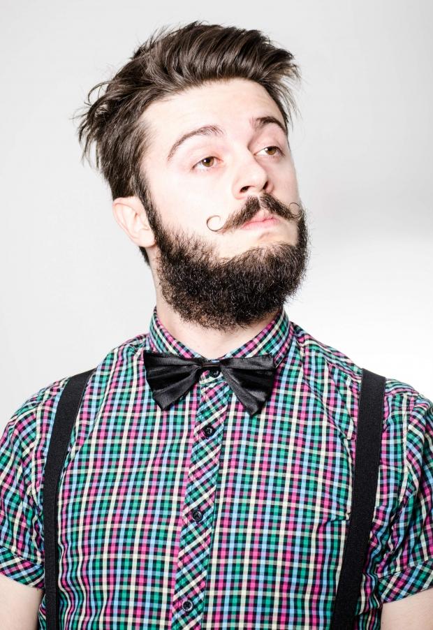 Причёска мужская хипстер