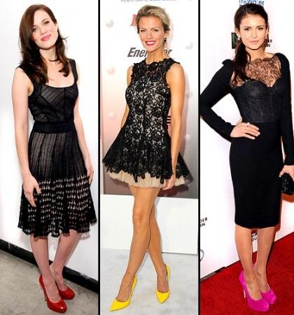 Какие туфли выбрать к черному платью