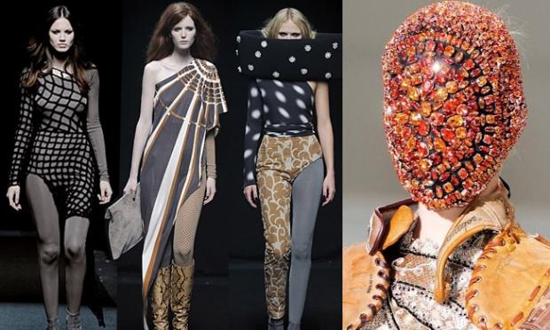 Авангардная дизайнер одежды