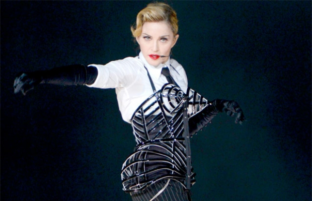 Мадонна в наряде от Готье