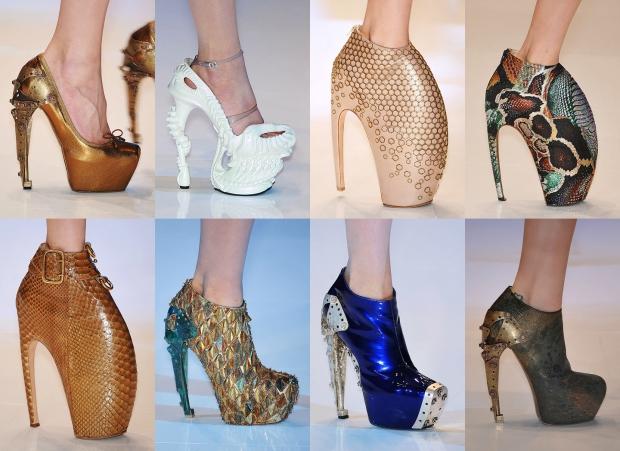 авангард Маккуина - обувь