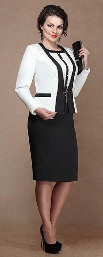 платье и пиджак деловой