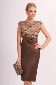 строгий образ платье