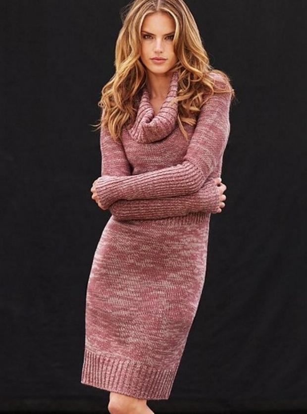 10177acc57b Вязаное платье  с чем носить и как выбрать - фото