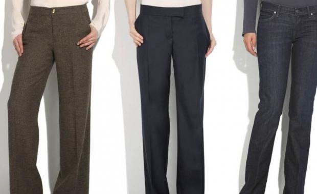 Варианты брюк