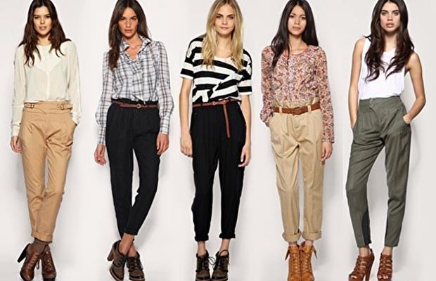 Модные модели брюк