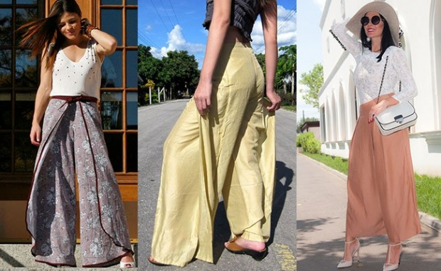 Модны ли юбка брюки