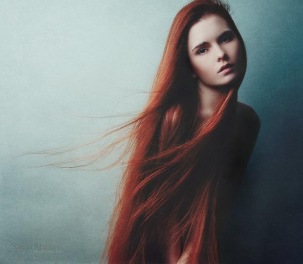 Образы женщин с длинными волосами
