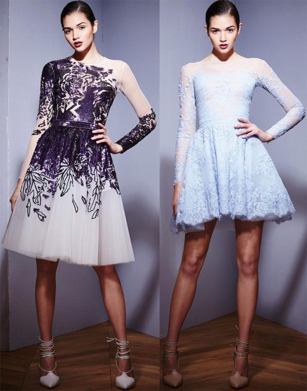 Коктейльный платья от дизайнеров