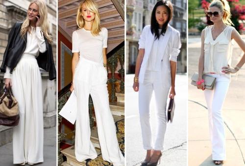 Фото белые брюки доставка