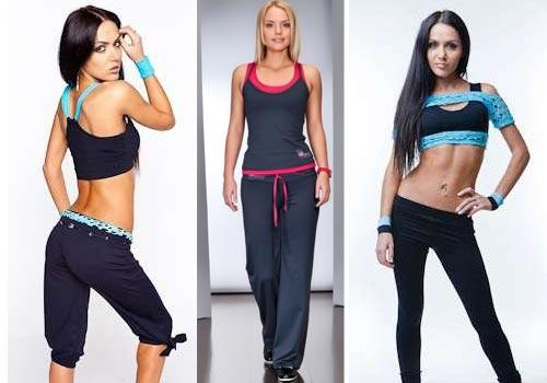 Как выбрать одежду для фитнеса женщине - фото
