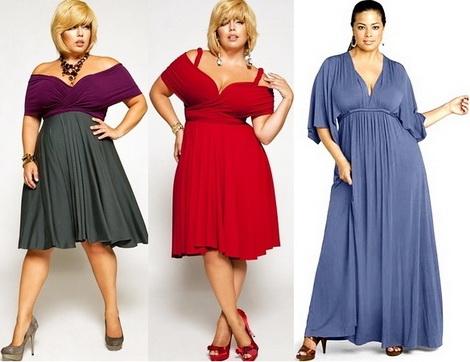 Фасоны платьев для нестандартной фигуры