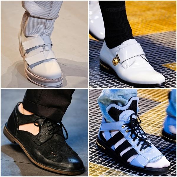 Модные туфли школьные для мальчиков