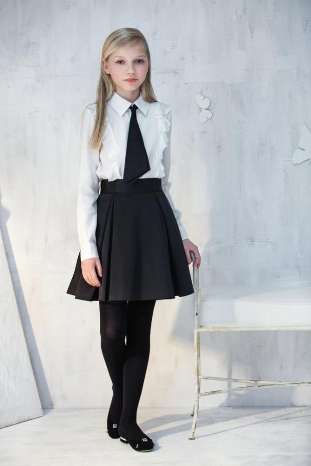 Красивые модные юбки в школу