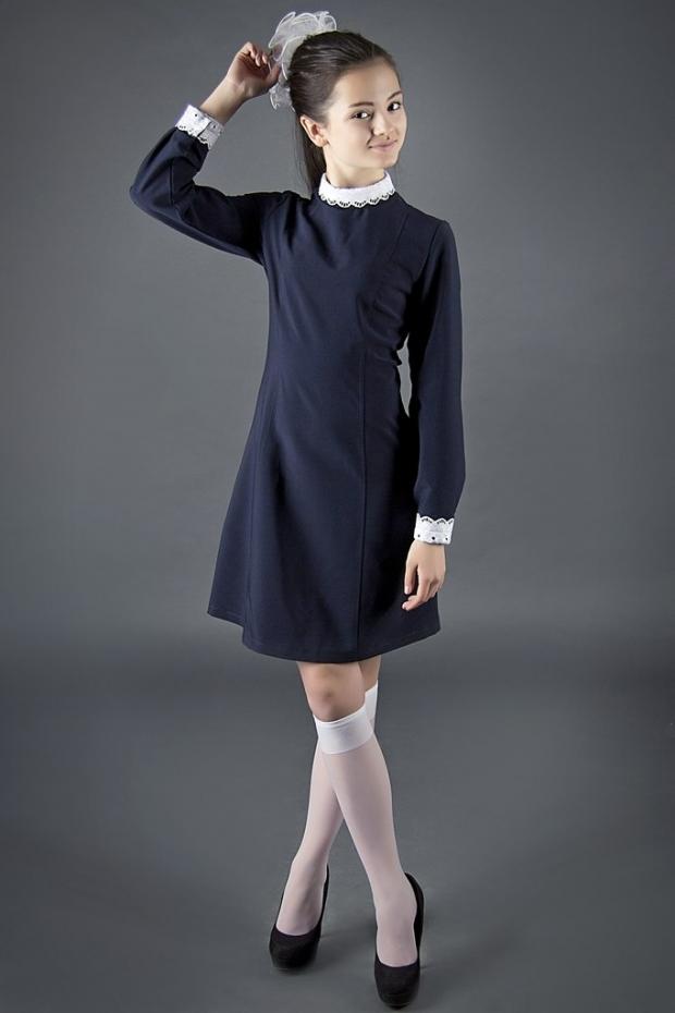 Как сшить школьное платье на девочку 241