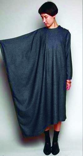Кроить платье балахон