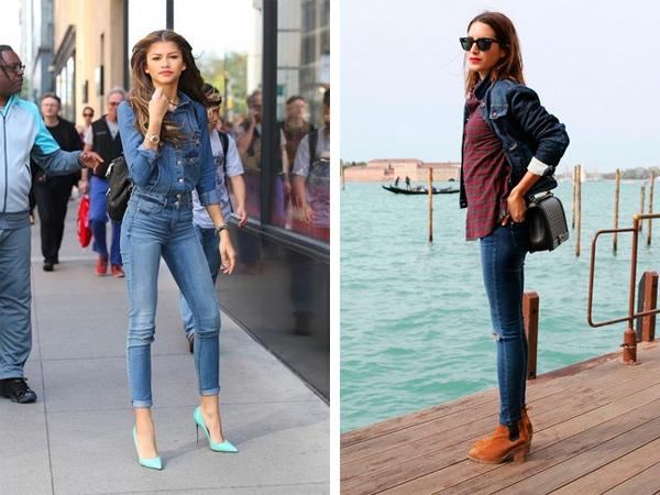 Если девушка носит джинсовую