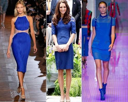 a8870d5454a7 Вечерние платья более яркие и сочные. Они пошиты из дорогих струящихся  материалов. Сегодня многие звёзды выбирают для красных дорожек именно синие  платья.