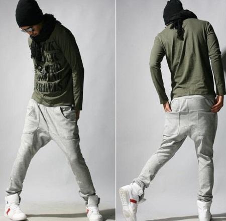 d626be5f Когда-то такие штаны носили африканские пехотинцы. Отличительная особенность  зуав – расширенная линия проймы. Штаны с низкой мотнёй особенно популярны  среди ...
