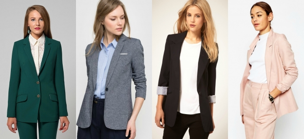 Модные советыЧем отличаются пиджак, жакет и блейзер. Правила ношения