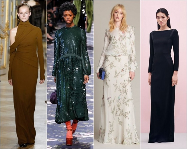 Необычные модные платья 2017
