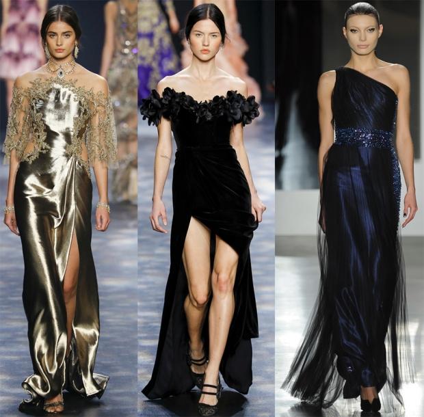 Вечерние платья 2017 года модные тенденции и