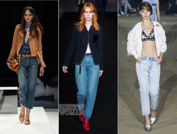 Мода джинсы 2017