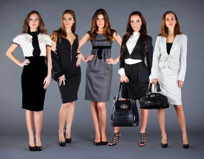 Образ деловой женщины: одежда, прическа