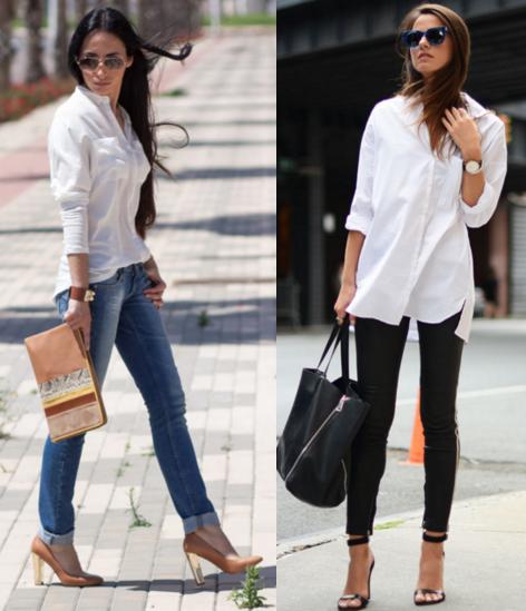 блузка с джинсами фото